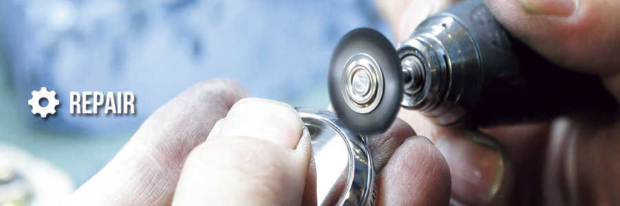 国産時計・輸入時計 外装修理・研磨・磨きのイメージ | 時計修理なら名古屋のウォッチリペアサービス