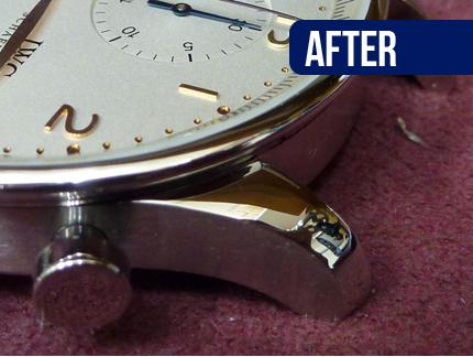 国産時計・輸入時計 外装修理・研磨・磨き 作業後 完成