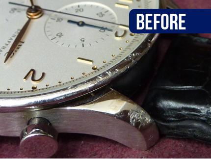 国産時計・輸入時計 外装修理・研磨・磨き 作業前