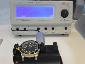 WITSCHI(ウイッチ)社製 タイムグラファー WATCHEXPERTⅢを使い精度のチェック