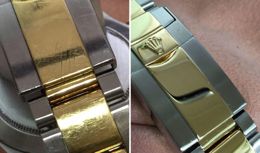 wholesale dealer 5d79c 9f196 ROLEXデイトナ116523傷取り/傷消し | 時計修理 名古屋 ...