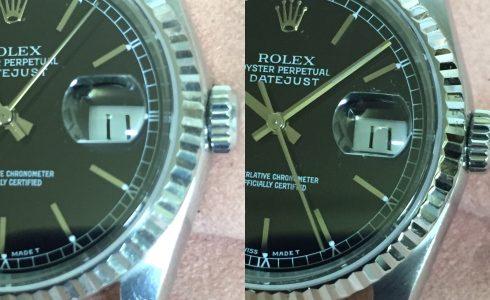 ROLEX16234傷取り仕上げ